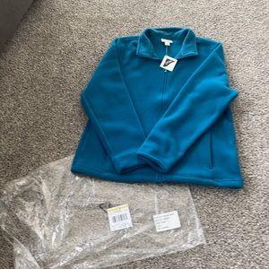 NWT L.L. Bean zip up jacket sz L